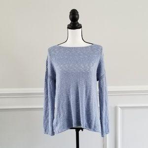 Artisan NY Light blue sweater XS NWT